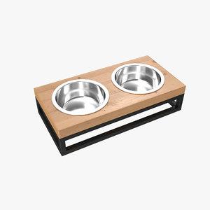 pet bowl 3D