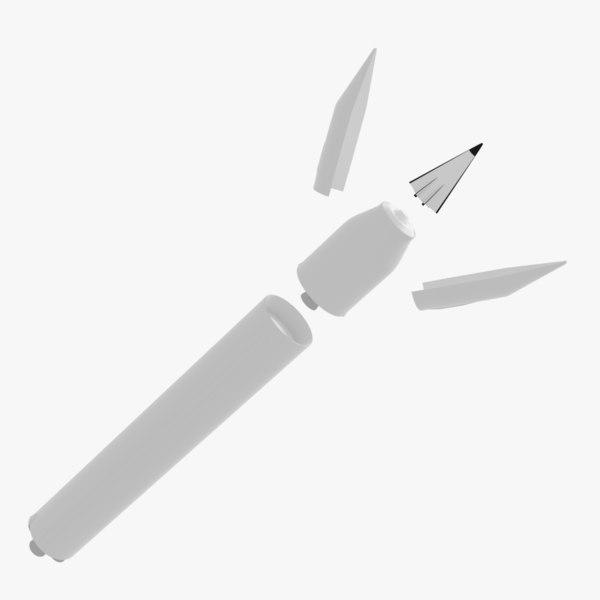 3D ur-100n missile avangard