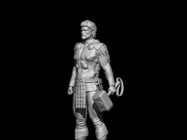 art statuette 3D model