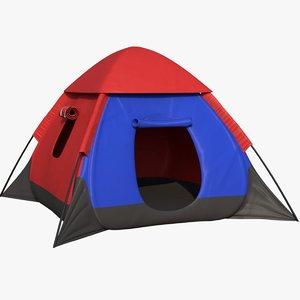 camping tent 3D model