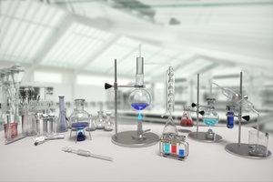 3D laboratory tube