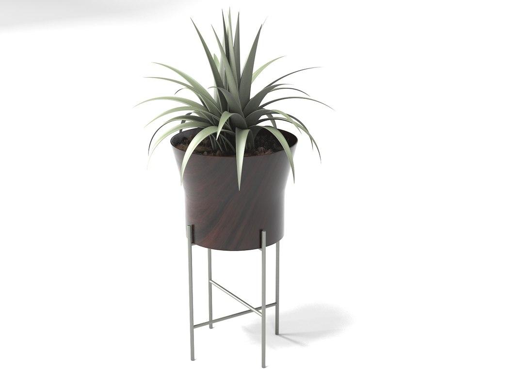 flower pot t02 3D