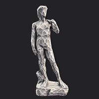 david stylized 2 3D model