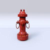 street water pipe 3D model