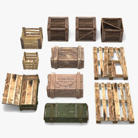 Wooden Crate Pack