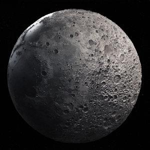 moon printing model