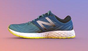 running shoe 3D model