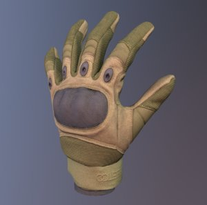 3D tactical glove