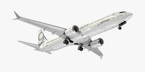 boeing planes generic 3D model
