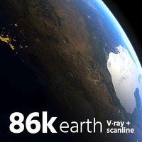 Photoreal Earth 86k