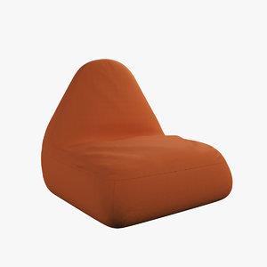 3D pear seat