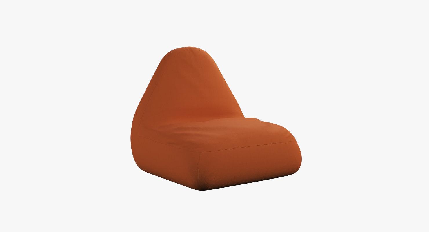 3D pear seat