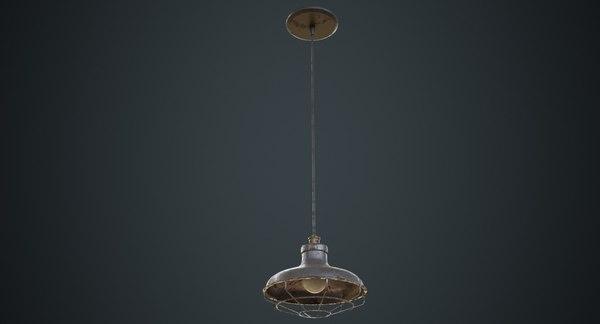3D hanging lamp 1d