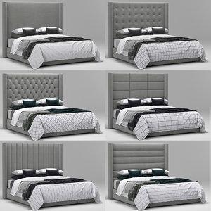3D rh modena shelter bed