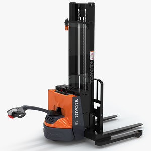 3D toyota walkie stacker