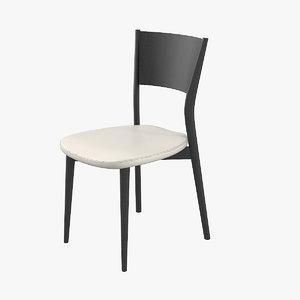 misuraemme berta dining chair 3D model