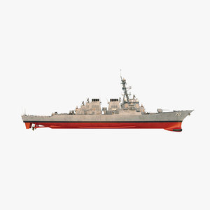 uss hopper ddg model