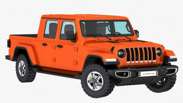 jeep gladiator 2020 3D