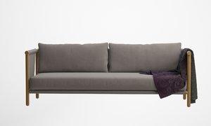 lax series trestles sofa model