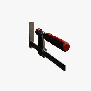 strong clamp 3D model