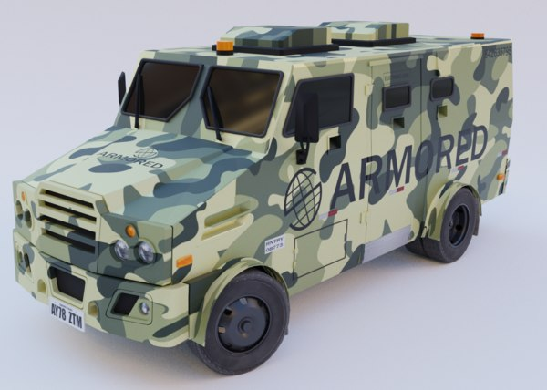 3D realistic ready vehicle