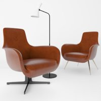 3D armchair trussardi cipcip