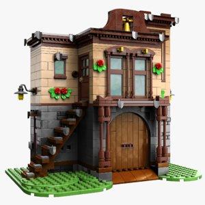 3D lego house