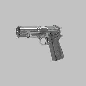 colt 1911 fully 3D