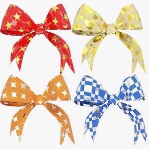 3D gift bows v1