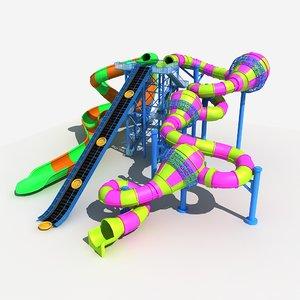 water slide 1 3D model