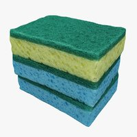 3D cleaned sponges