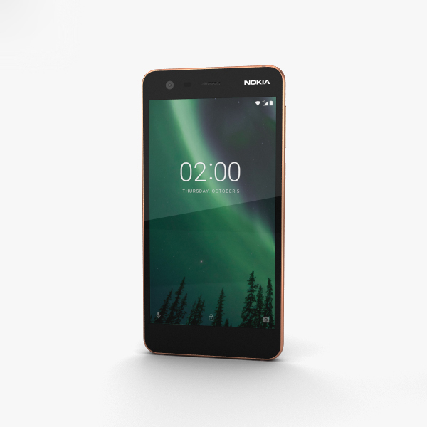 nokia 2 copper 3D