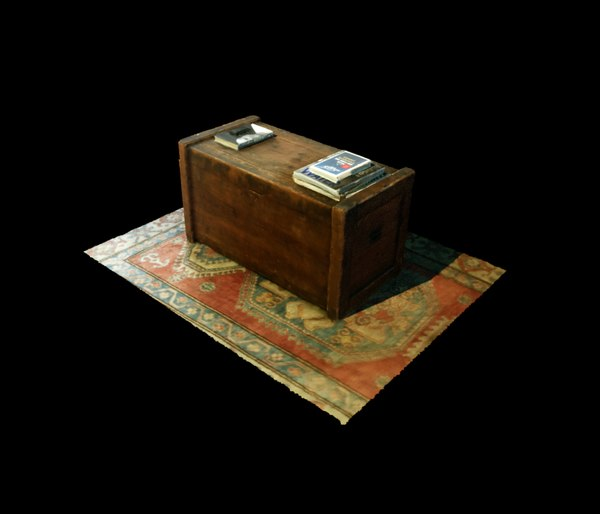old coffee table 3D