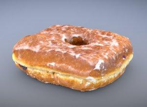 3D jam doughnut model