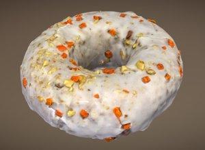 carrot cake doughnut plant model
