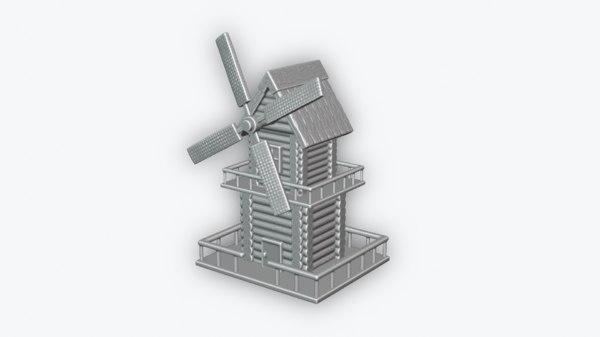wind mill model