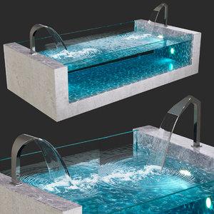 3D pool victoria aquaviva gusak model