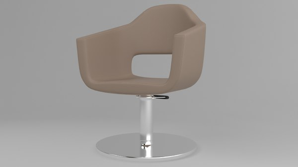 welonda retro armchair chair 3D model