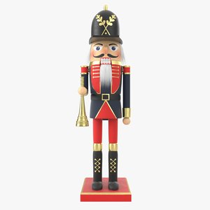 3D model nutcracker nut cracker