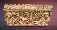 Marble sarcophagus: Myth of Selene and Endymion