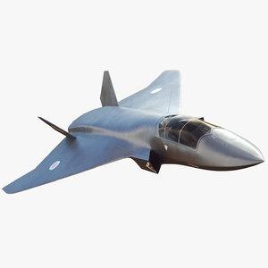 3D model concept future tempest bae
