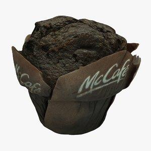 3D muffin mc model