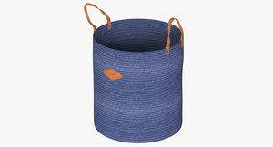 3D laundry basket