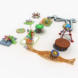 amusement park equipment model
