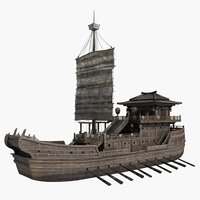 Chinese Ancient Warships