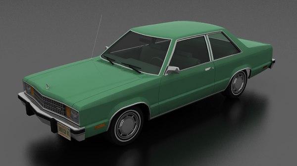 fairmont 2dr sedan 1978 model