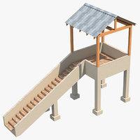 platform 3 3D model