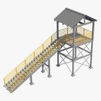 3D platform 4 model
