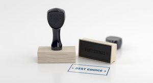 rubber stamp 3D model