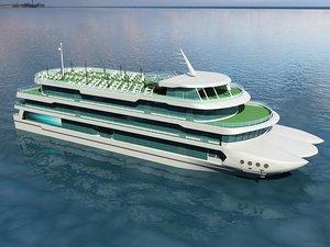 3D yacht 1